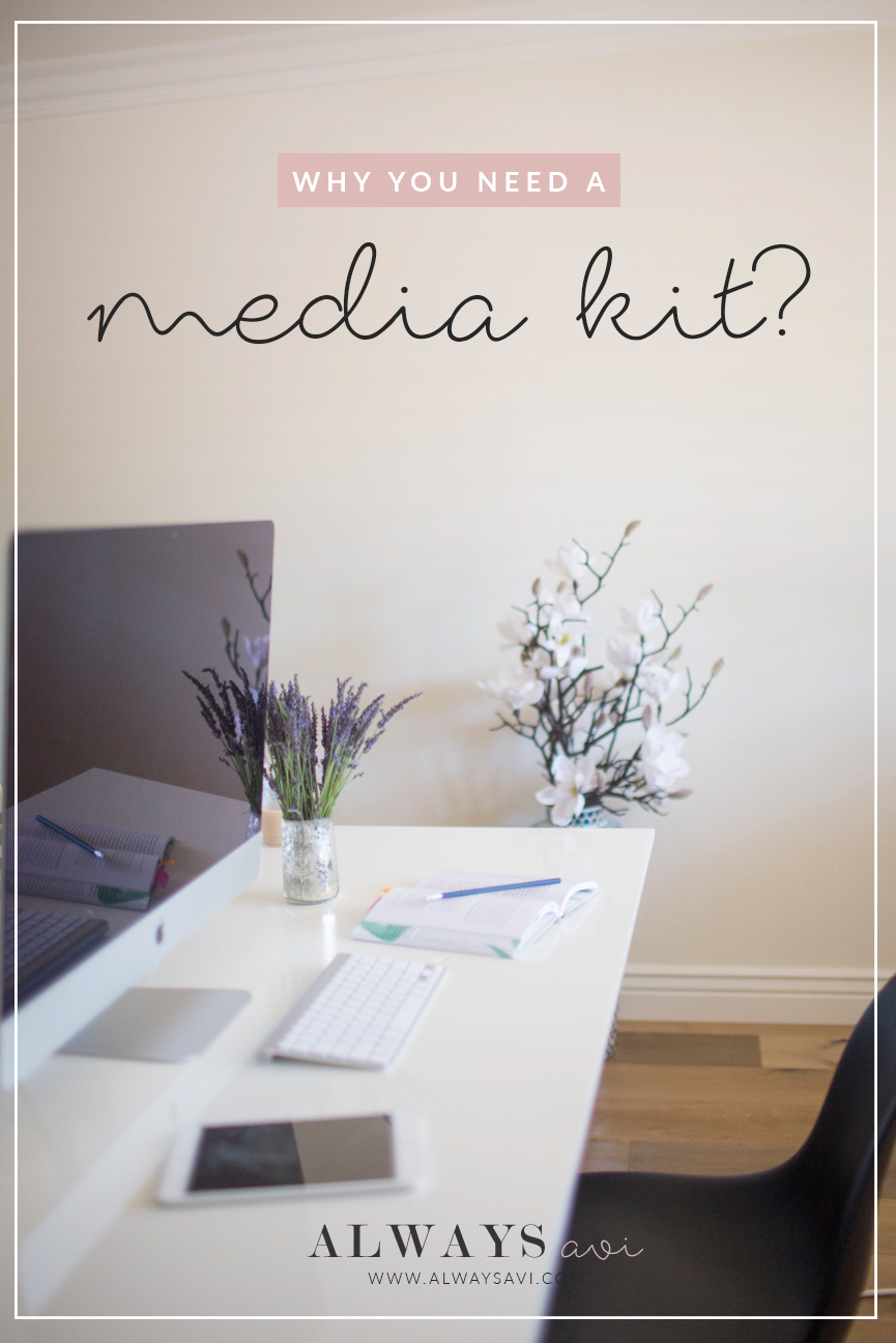 Ever wonder why you need a media kit? Check out this blog post, where I'll be telling you all about the importance of having one!
