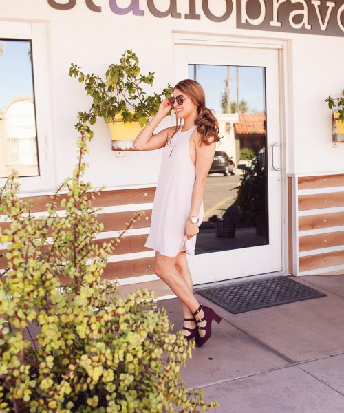 Get the Look: Romantic Pink Dress - Always Avi