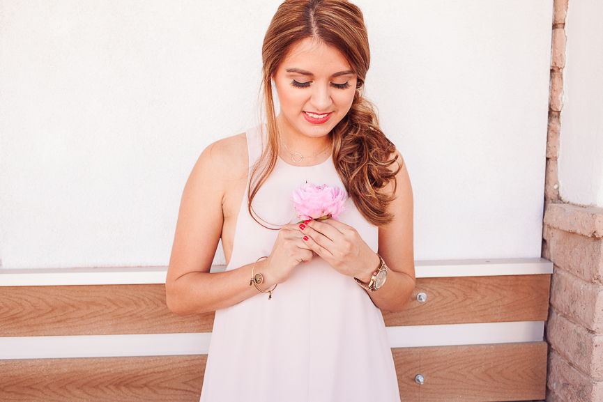 b5ce16ddb1 Get the Look  Romantic Pink Dress - Always Avi