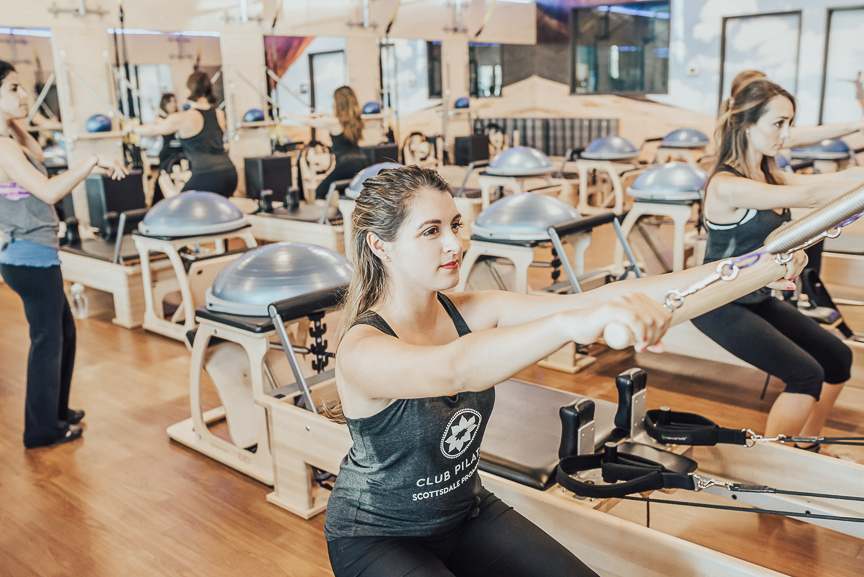 I've never been much of a gym person, but lately I've been trying pilates! Click here to learn about why I love it so much.